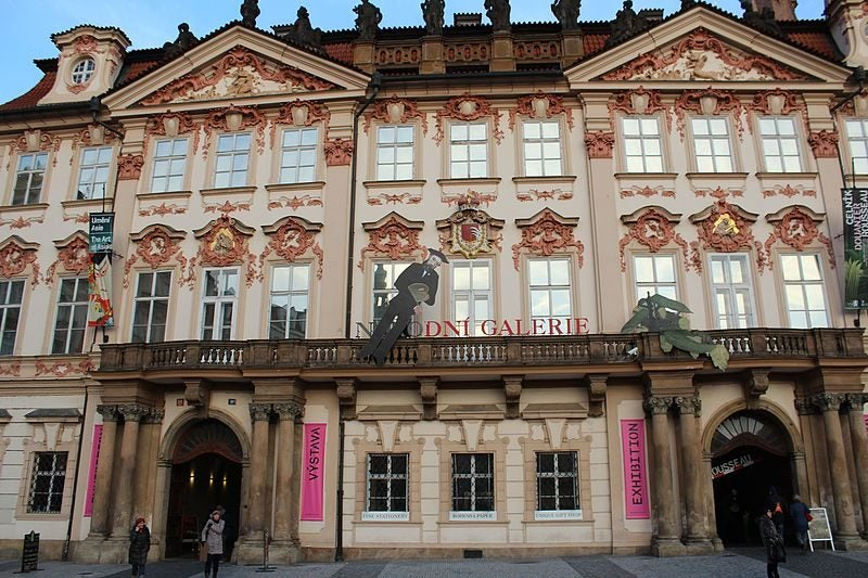 Galerie Nationale Prague - blog Opodo