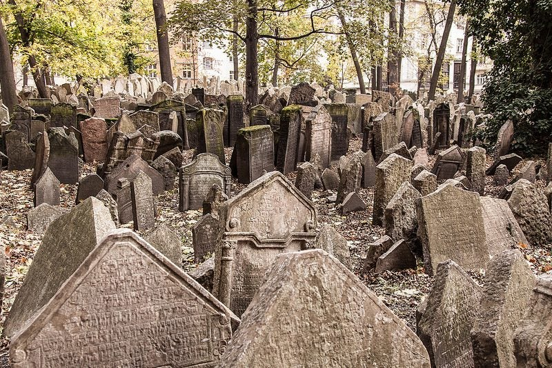 cimetière juif prague - blog Opodo