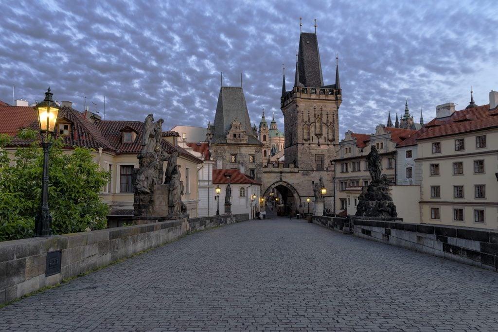 Pont Charles Prague - blog Opodo