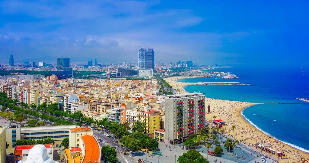 Plages de Barcelone - blog Opodo