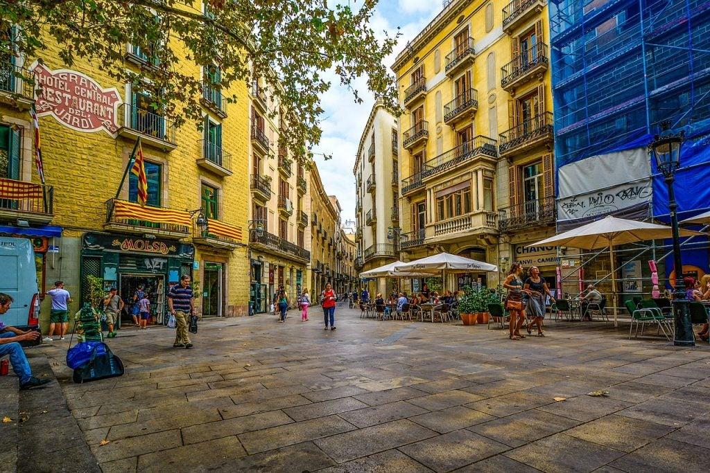 rue de Barcelone - blog Opodo