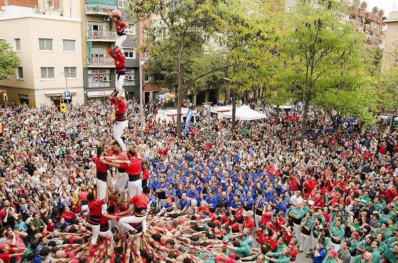 castells Barcelone - blog Opodo