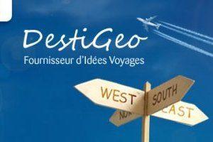 Destigeo, le nouveau fournisseur d'idées voyage