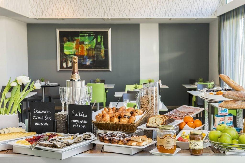 petit-déjeuner hôtel Opodo