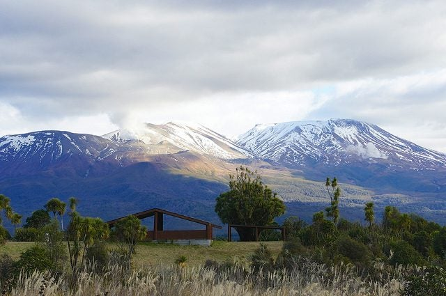 Parc national de Tongariro Nouvelle Zélande