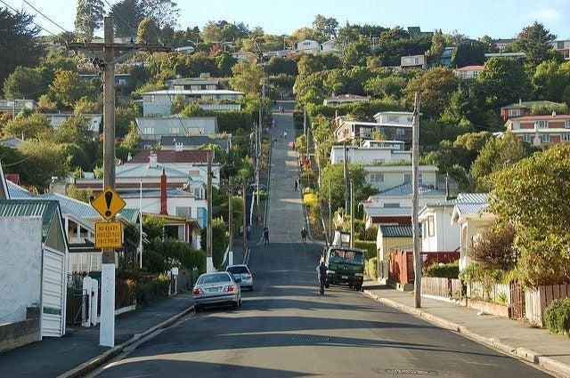 Baldwin Street Dunedin Nouvelle Zélande