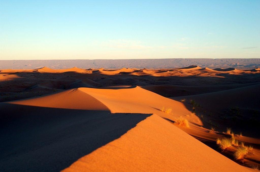 Au pays des sables