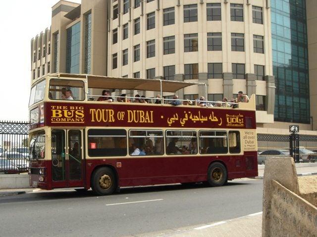 Bus touristique Dubaï - blog Opodo