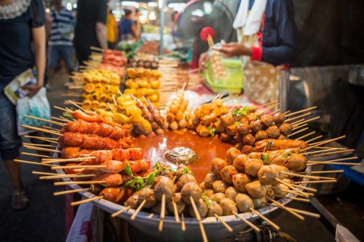 Street food à Bangkok - Thaïlande