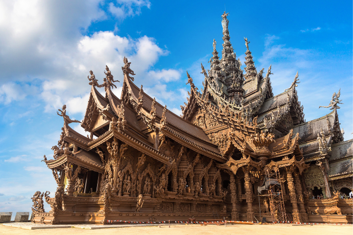 Sanctuaire de la Vérité, Pattaya Thaïlande