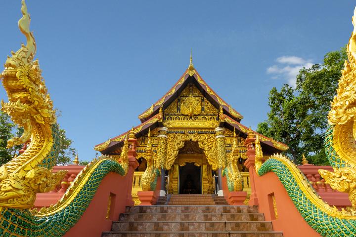 Wat Pra That Doi Pra Chan - Thaïlande