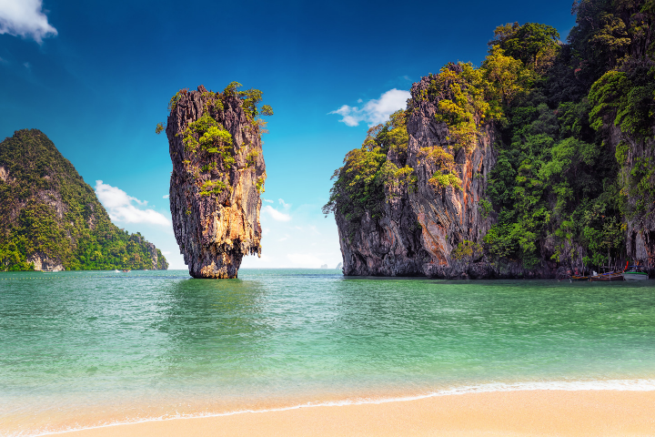 Khao Phing Kan - île James Bond - Thaïlande