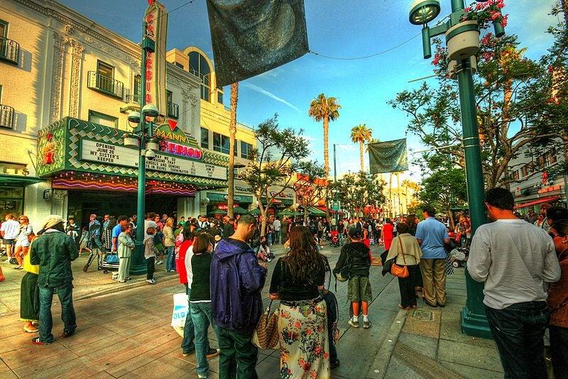 3rd street promenade Los Angeles - blog Opodo
