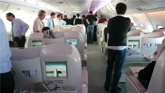 L 39 interview de petra friedmann qui a test pour vous l 39 a for A380 air france interieur