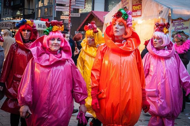Parade déguisée à Cologne pour le carnaval