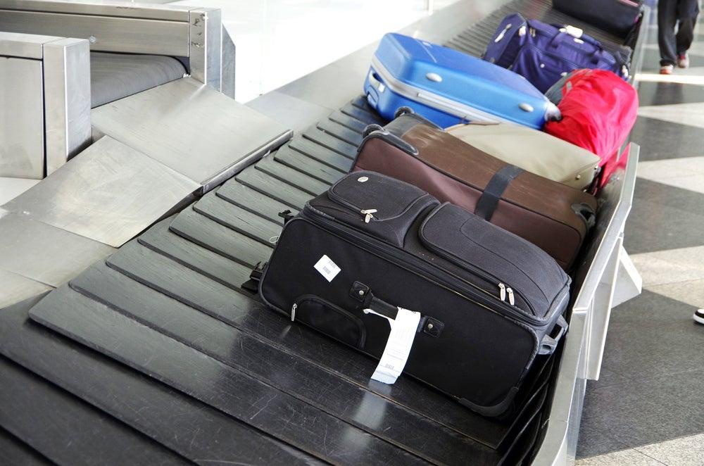 valises tapis roulant
