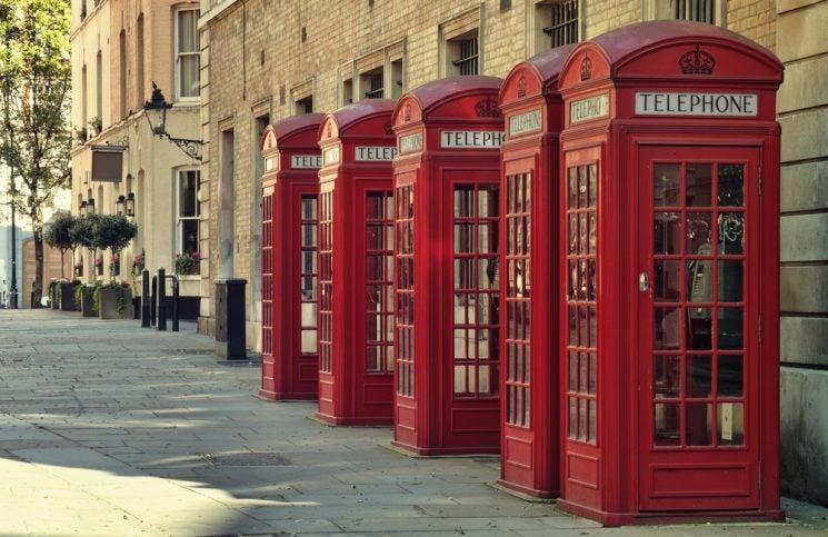 Londres cabines - blog Opodo