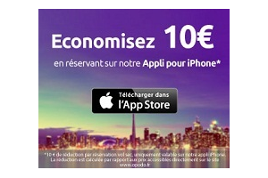 Testez la nouvelle application iPhone Opodo et économisez 10€