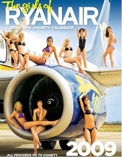 Calendrier sexy Ryanair
