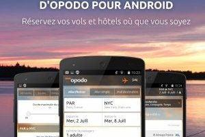 Découvrez la nouvelle App Opodo pour Android !