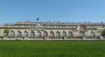 Les bagages s'enregistrent à Paris avec Air france
