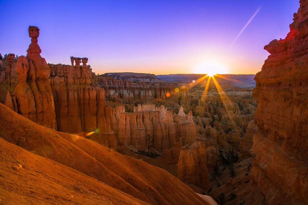 Bryce Canyon, États-Unis, aube - blog opodo