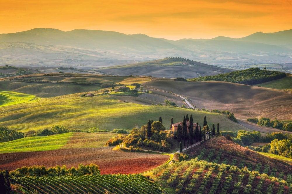 Val d'Orcia, Italie - blog opodo