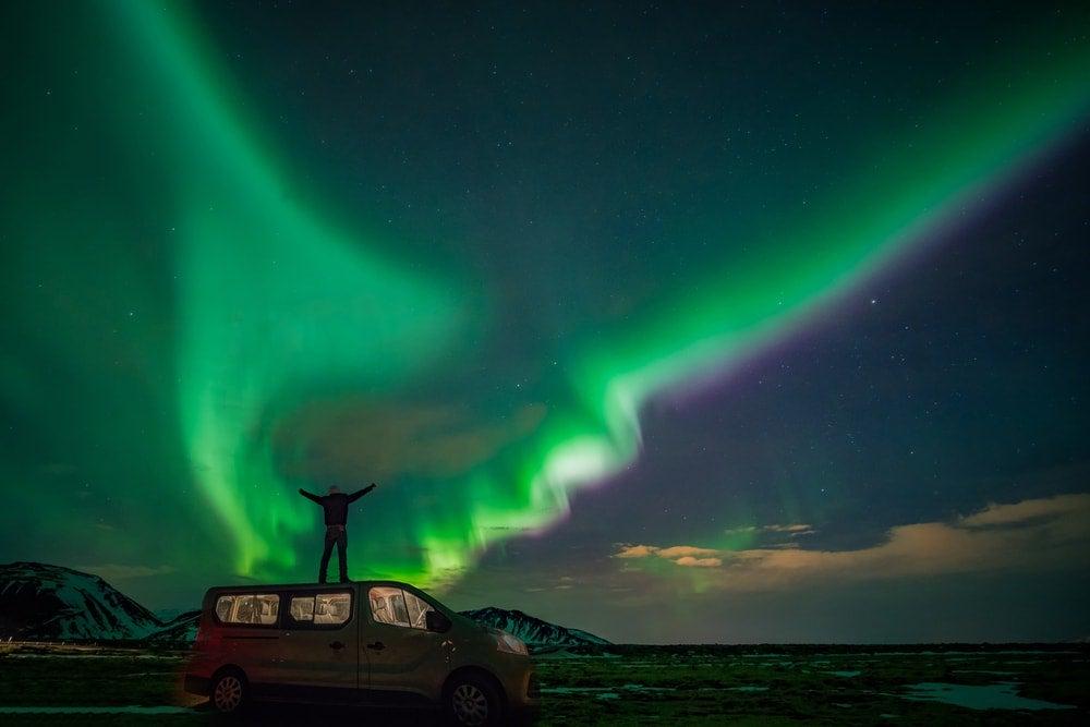 aurore boreale islande - blog Opodo