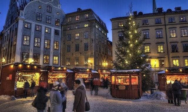 Stockholm Christmas Market - blog Opodo