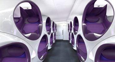 Air Lair – les cabines d'avions du future