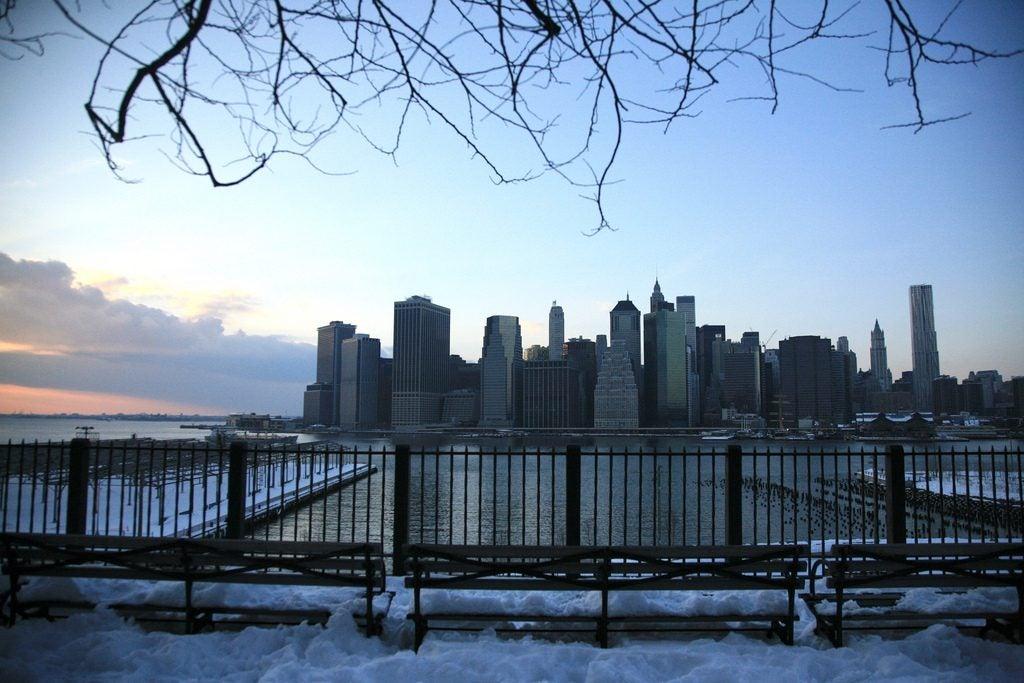 New York en hiver