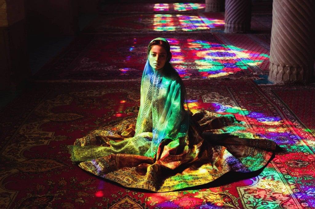 Jeune femme en Iran