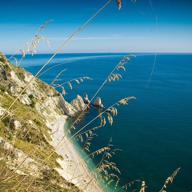 Spiaggia delle due sorelle, Ancona (Marche)