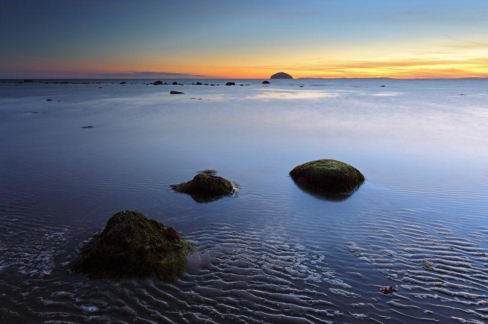 coucher du soleil ailsa craig - blog opodo