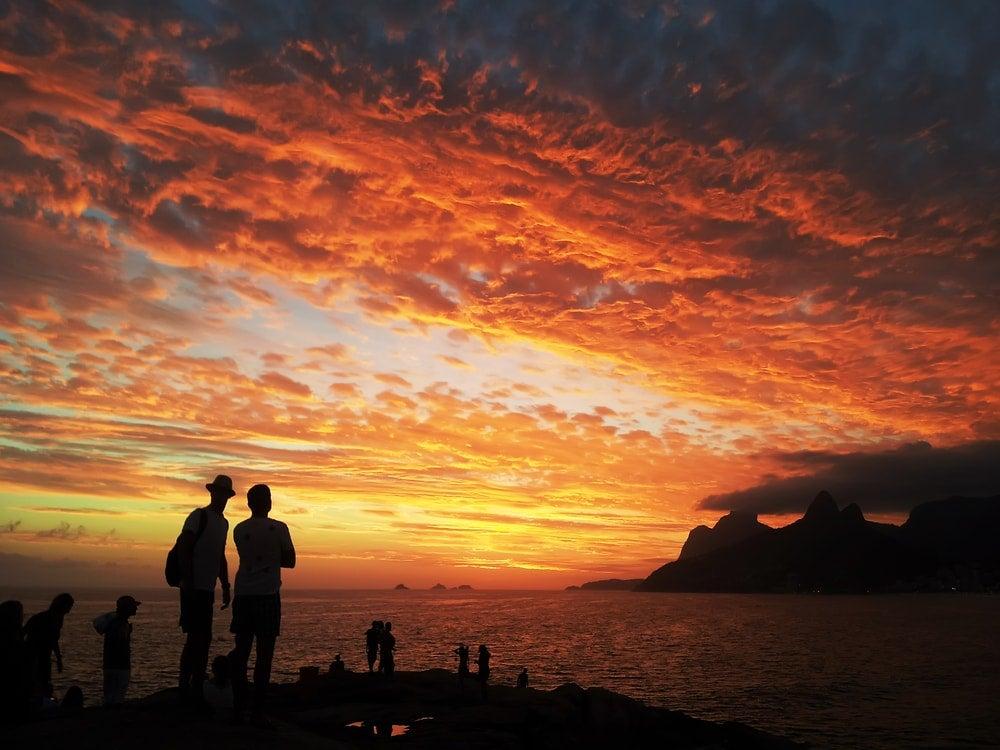 coucher du soleil rio de janeiro  - blog opodo