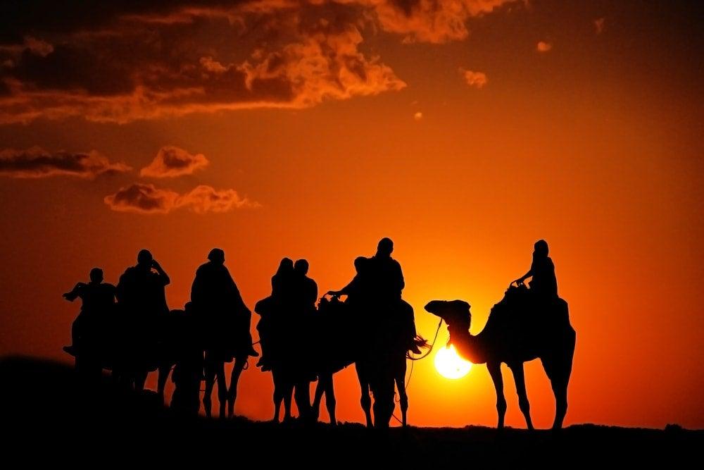 coucher du soleil sahara - blog opodo