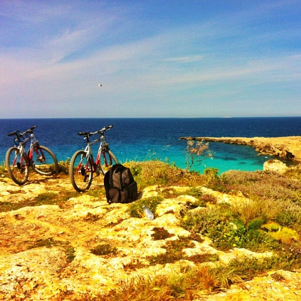 Cala rossa, Isola di Favignana (Sicilia)