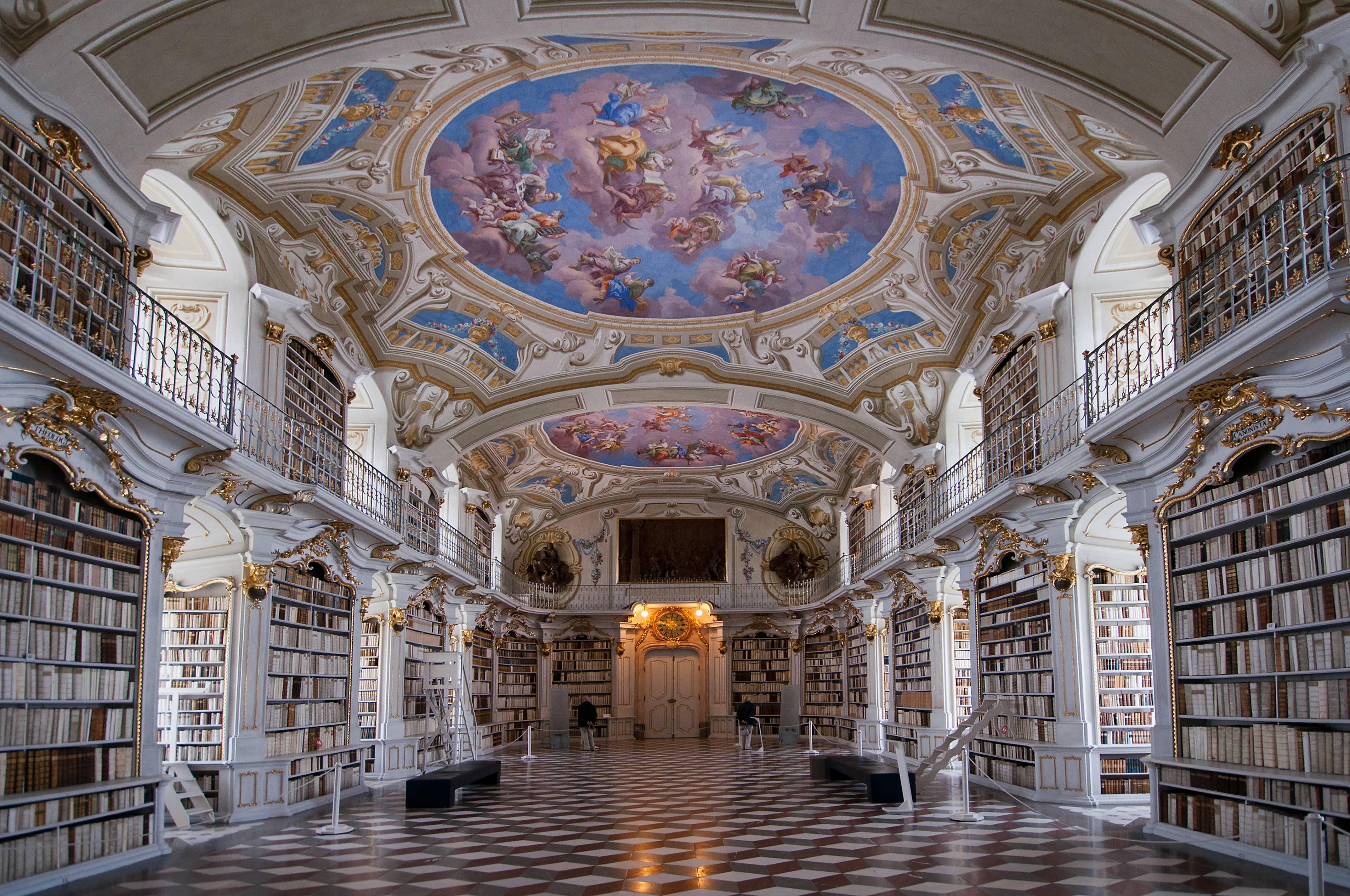 Bibliothèque del'abbaye d'Admont, Autriche - blog Opodo