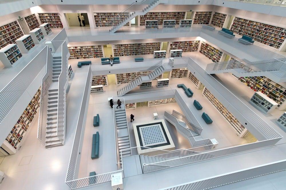 bibliotheque stuttgart - blog Opodo