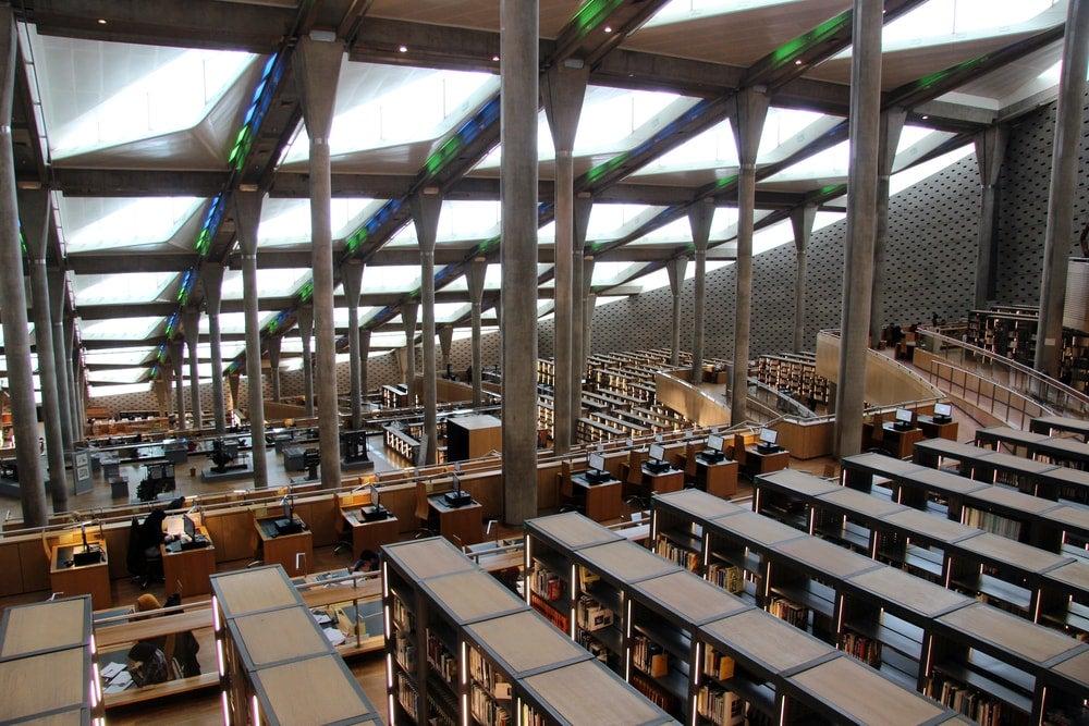 bibliotheque alexandrie - blog Opodo