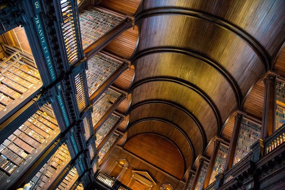 bibliotheque trinity college dublin - blog Opodo