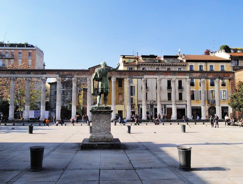 colonnes san lorenzo milan - blog opodo