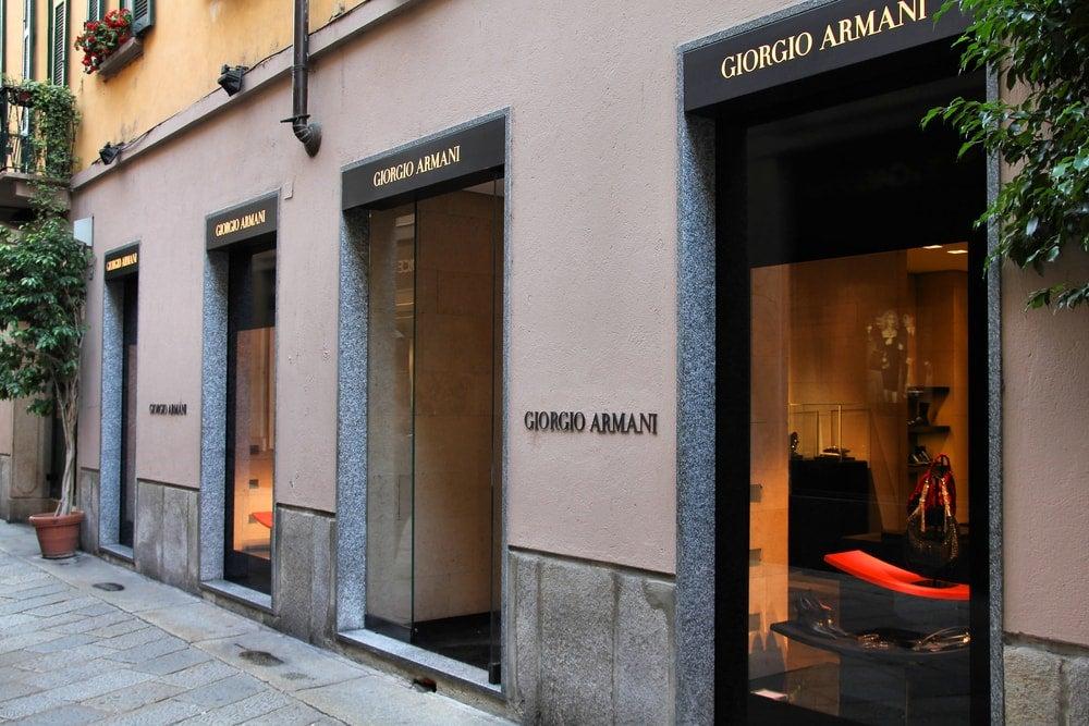 shopping milan boutique armani - blog opodo