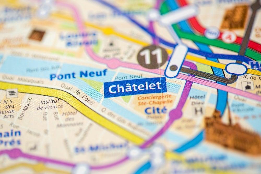 chatelet paris plan - blog opodo