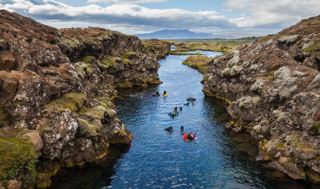 Silfra Islande Opodo