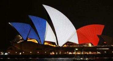 Le monde en bleu, blanc, rouge