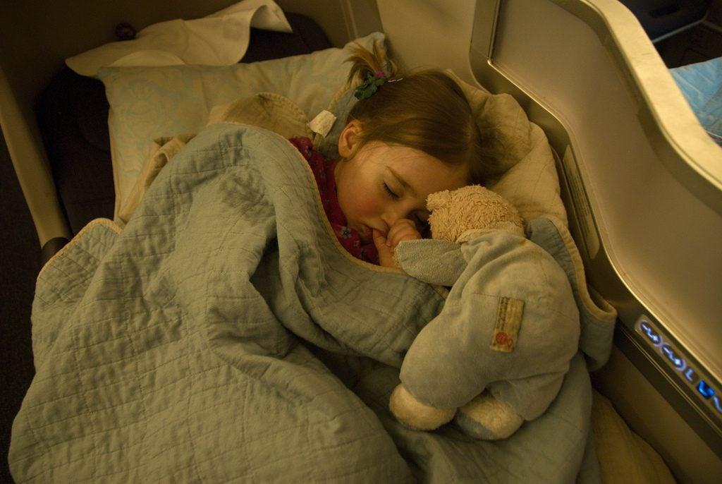 dormir dans l'avion