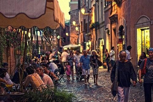 Trastevere Rome - blog opodo
