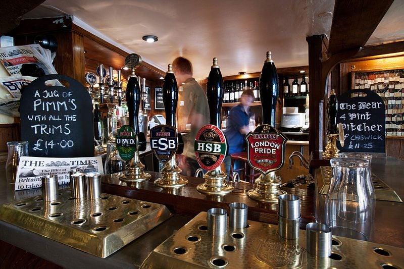 bières londres - blog Opodo