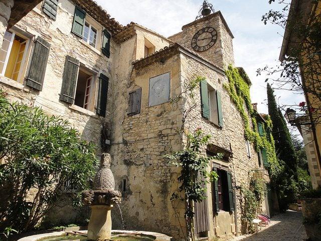 village de Seguret vaucluse